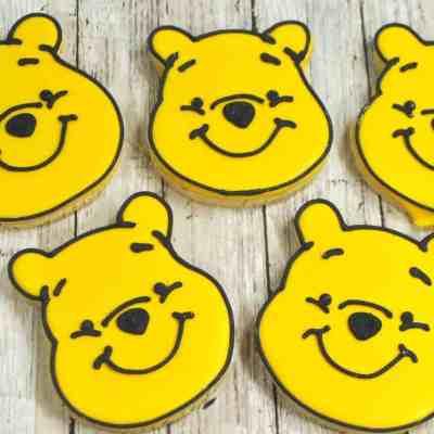 Winnie The Pooh Cookies #Recipe