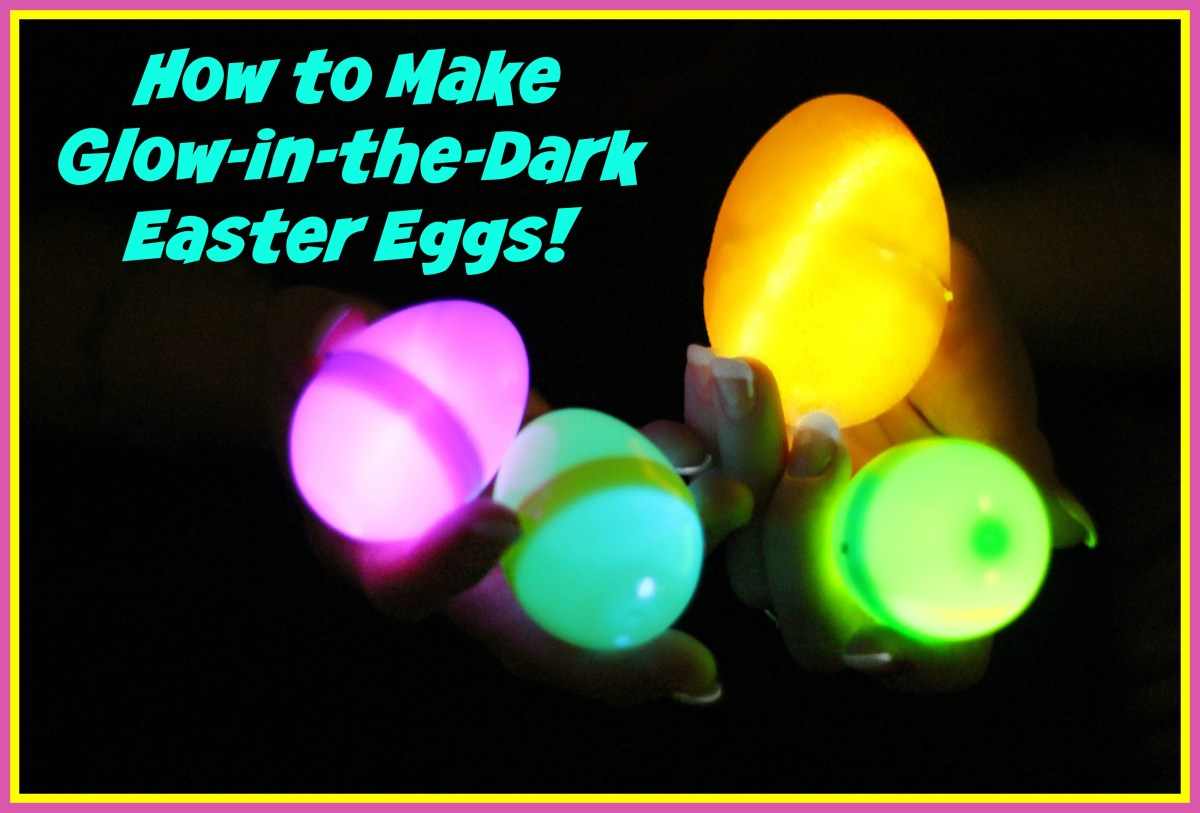 How to Make Glow-in-the-Dark Easter Eggs
