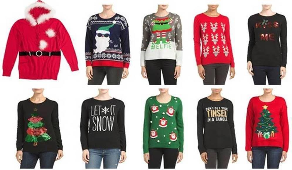 483521d4853 T.J.Maxx   Marshalls Outfit You in Style with Ugly Christmas Sweaters! -  Redhead Mom