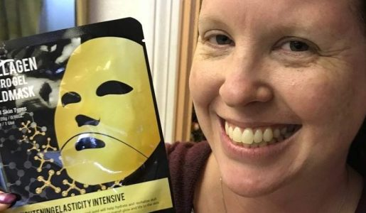 Softer Skin with the Masqueology Collagen Hydro Gel Gold Mask