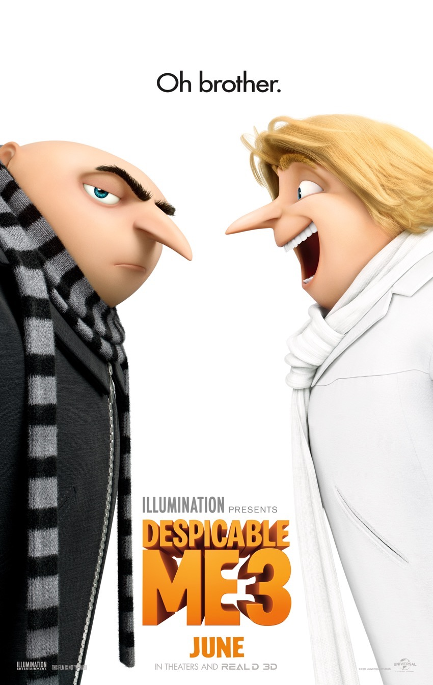 #DespicableMe3 #ad
