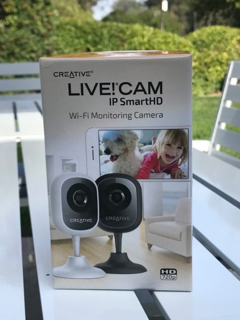 #CreativeLabs #IPCam #Technology #home #giveaway #ad