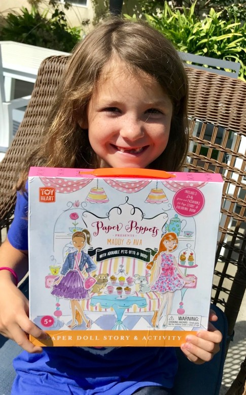 #PaperPoppets #GirlPower #Imagination #blogger #ad