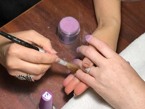 Dip Powder Nails #nails #dippowder #beauty