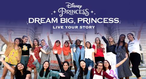 Disney #DreamBigPrincess #Disney #girlup