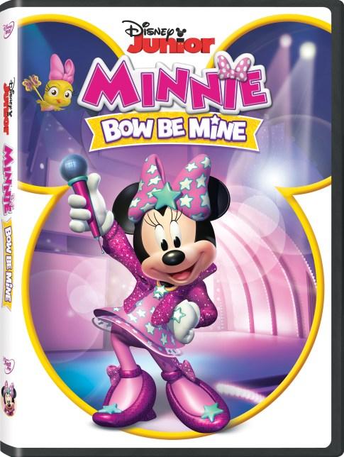 Minnie Bow Be Mine DVD Giveaway #Disney #MinnieBowBeMine #movies #ad