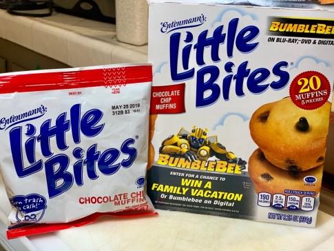 Box of Entenmann's Little Bites Muffins