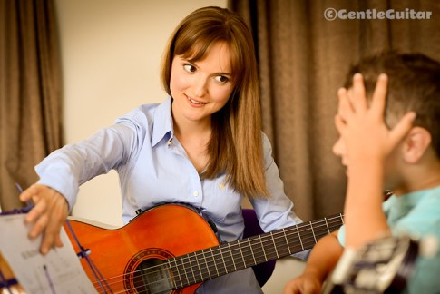 Gentle Guitar Lessons