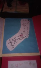 a pair of red clogs lapbook