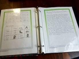 Notebooking through trade books