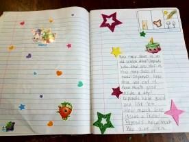 copywork notebooking