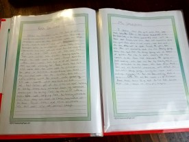 Notebooking and silent reading