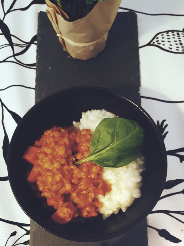 Autumn recipes Lentil curry