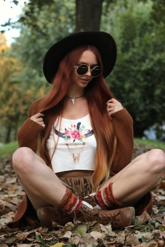 Summer to fall Update your boho look 3