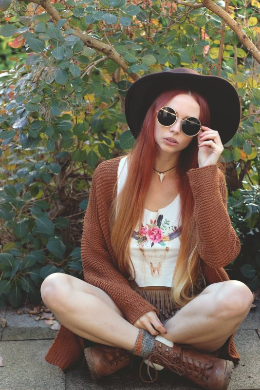 Summer to fall Update your boho look 8