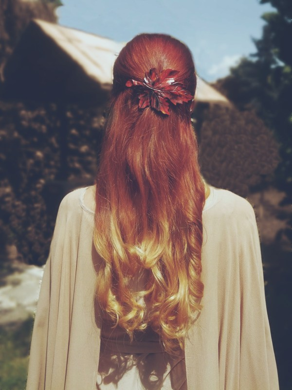 Ombre fire hair 1