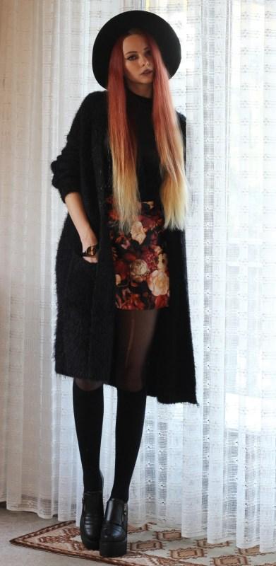 redheadventurer-outfit-floral skirt-autumn-spring-2