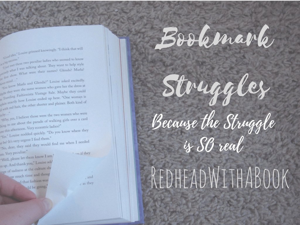 Bookmark Struggles