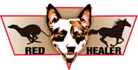 Red Healer Animal Products Logo