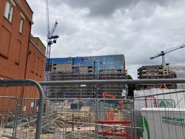 Rebuilding A Town Centre