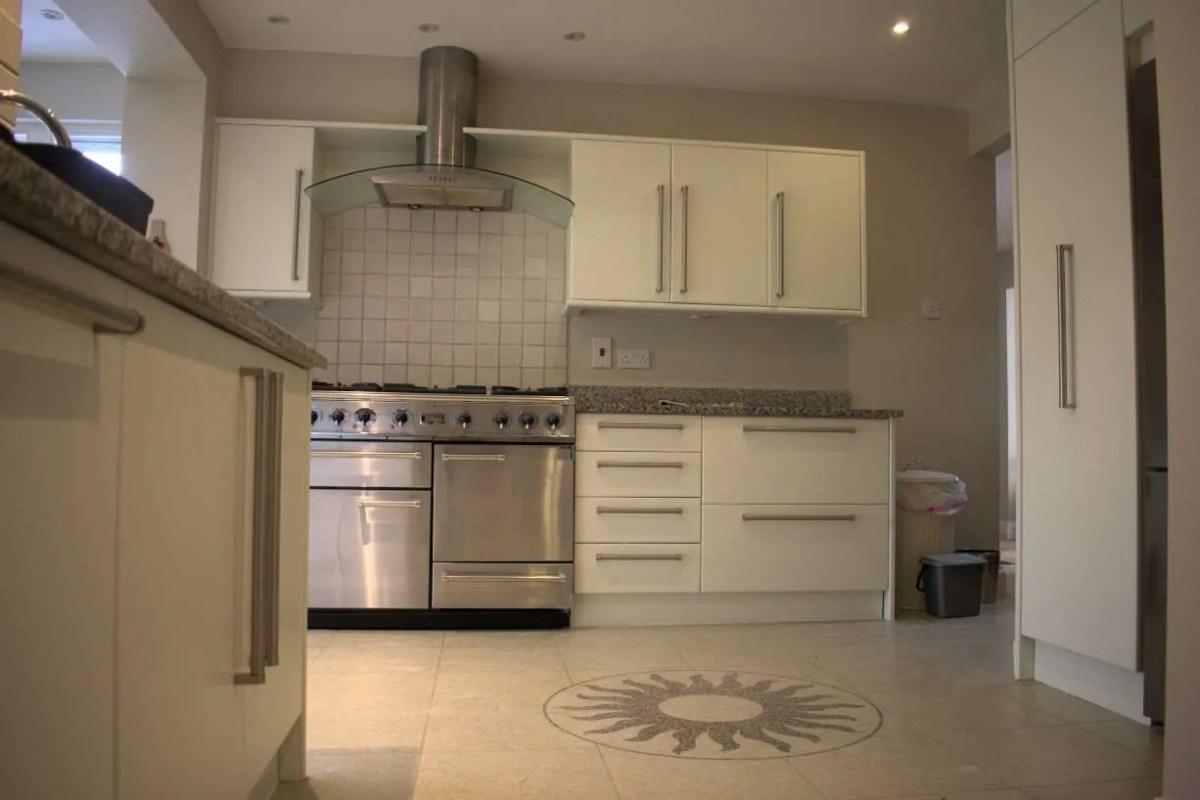 White Kitchen respray