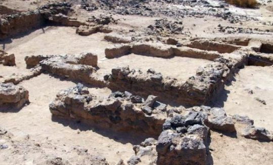 Restos del palacio de 1.300 años encontrado en Arabia Saudita