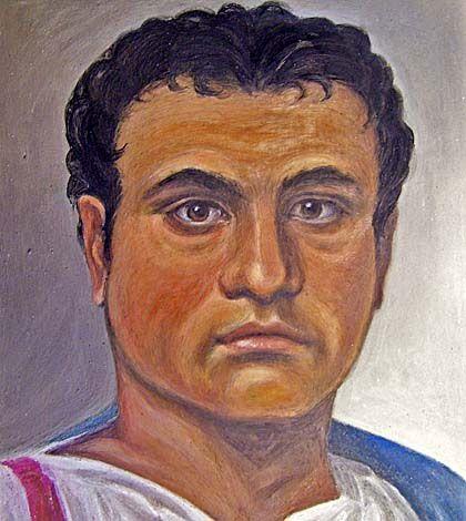 Retrato de un antiguo romano elaborado gracias a las nuevas tecnologías.