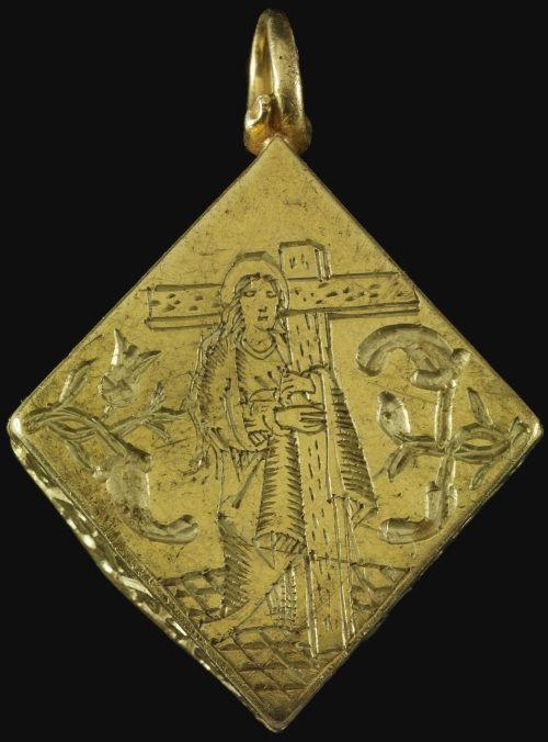 Medallón medieval encontrado por un niño en Gran Bretaña
