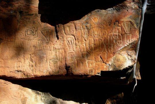 Descubren nuevos petroglifos en México