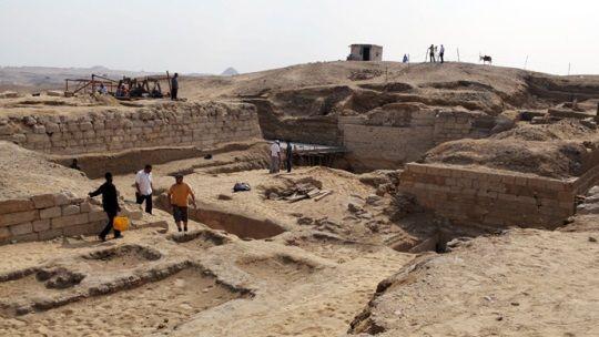 Pirámide de Khay, visir de Ramsés II