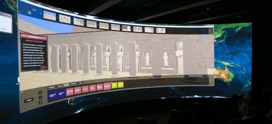 paseo virtual templo amon ra