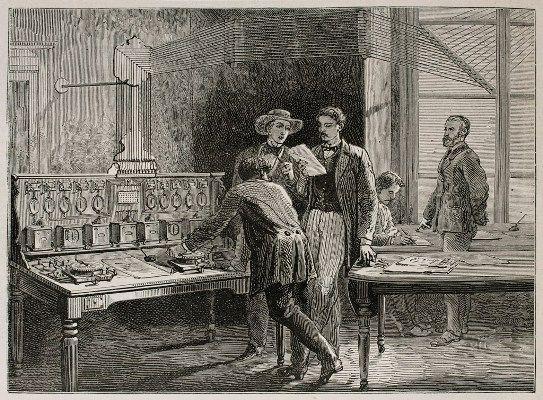 Casi 150 años del telégrafo en España