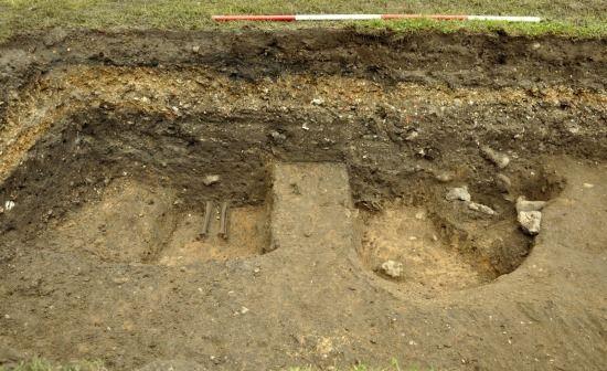 cementerio cristiano medieval