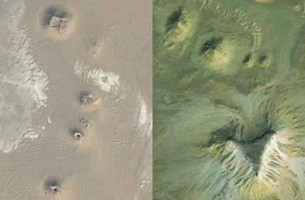 piramides vistas desde google earth