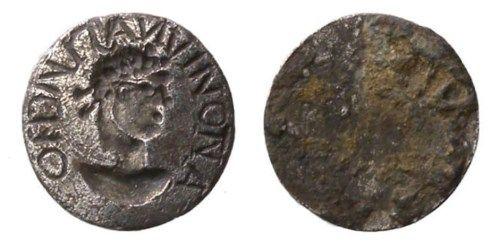 disco de plata periodo romano tardio gran bretaña