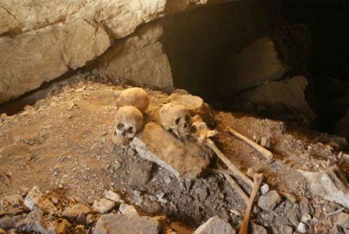 esqueletos primeros pobladores america