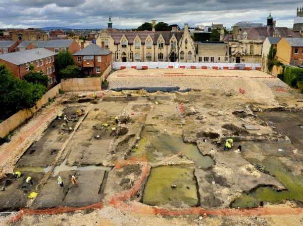 excavaciones en brunswick road