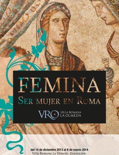 exposicion femina ser mujer en roma