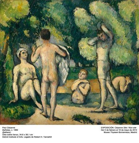 desnudos y arboles