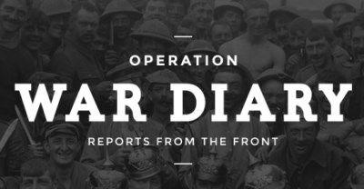 operacion diarios de guerra