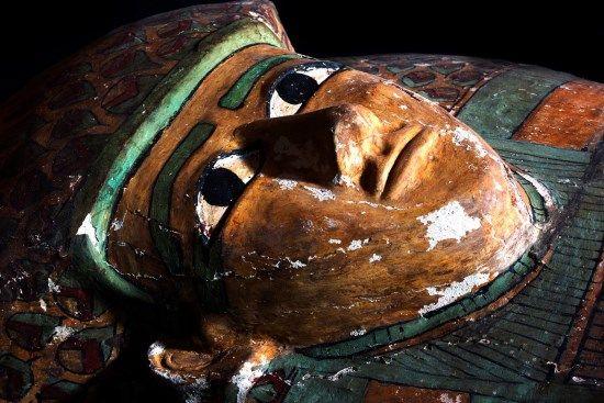 ataud 17 dinastia egipto