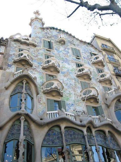 Casa Batlló de Barcelona, Antonio Gaudí, 1904-1906