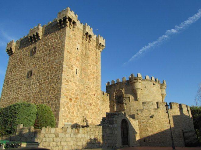 castillo de villaviciosa de solosancho