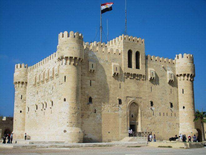 foto ciudadela de qaitbay