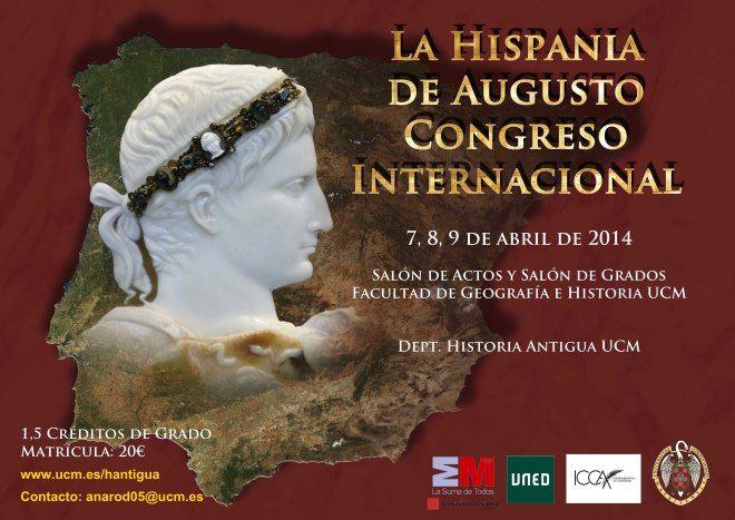 congreso la hispania de augusto en la universidad complutense