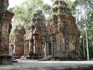 Preah Ko, los templetes de los antepasados. Fuente: Flickr