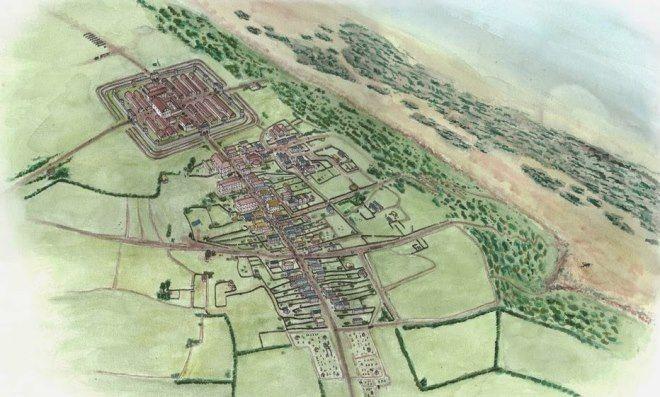 reproduccion poblado romano maryport