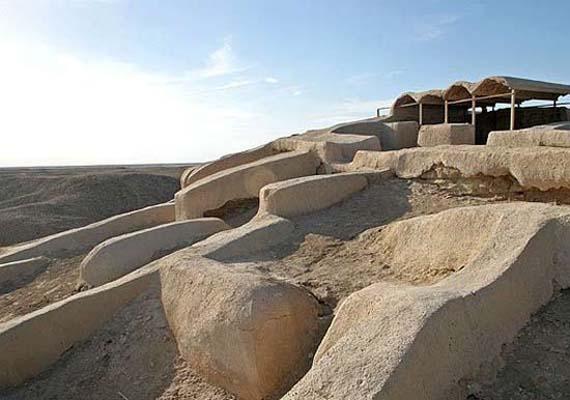 Ciudad Quemada, gran yacimiento arqueológico en Irán. Crédito: english-tebyan