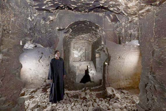 Interior de la tumba. Crédito: Matjaz Kacicnik