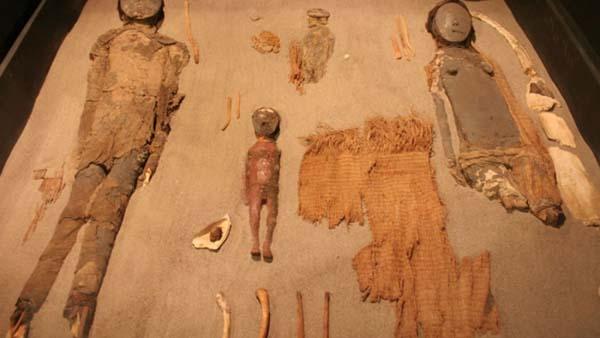 Buscan salvar las momias de Chinchorro del cambio climático.